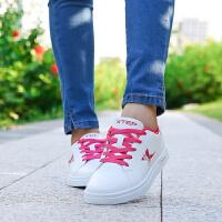 特步女鞋板鞋新款百搭休闲鞋时尚运动板鞋轻便女鞋韩版休闲鞋
