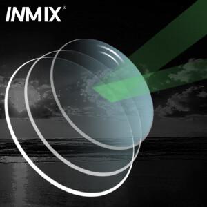 Inmix 1.50 偏光防辐射镜片 轻度近视太阳镜片 防紫外线树脂眼睛片3038A