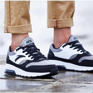 安踏男鞋正品运动鞋春季复古透气气垫鞋综训鞋跑步鞋旅游休闲鞋