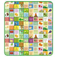 峥嵘毯业 儿童爬行地毯 户外野餐垫 防潮垫 健康地毯 双面图案