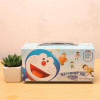 纸质韩版文具盒时尚可爱三层密码锁公主文具盒男女学生大白铅笔盒笔袋