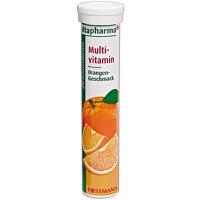 德国altapharma VC泡腾片 香橙味 多种维生素 20片