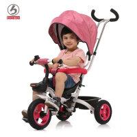 boso宝仕1-3岁折叠儿童三轮车脚踏车宝宝自行车童车婴儿手推车