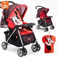 【当当自营】好孩子婴儿推车 轻便 婴儿车推车 儿童宝宝推车 婴儿手推车C309/C311 红色+迪士尼棉垫