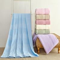 全棉毛巾被 纯棉单人加厚大空调被盖毯婴儿童毛毯子床单夏凉被