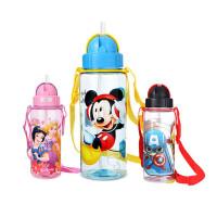 迪士尼 男女儿童水杯 吸管杯510ML米奇苏菲亚可爱卡通杯子