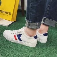 货到付款 春季男士板鞋学生小白鞋韩版休闲鞋个性青少年潮鞋白色皮鞋男鞋子