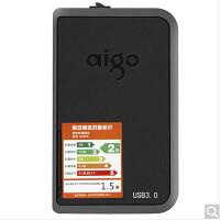 爱国者(aigo)HD806  移动硬盘 USB3.0 500G(黑色)