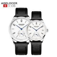 Agelocer艾戈勒情侣表一对全自动机械表手表防水女表皮带男表