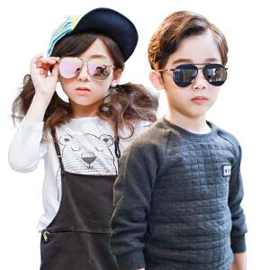 KK树2017年新款儿童眼镜墨镜宝宝太阳镜时尚舒适男女童防紫外线潮