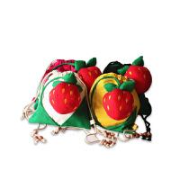 咔米嗒KAMiDA 儿童书包男女童韩版背包宝宝小孩1-3岁草莓双肩包