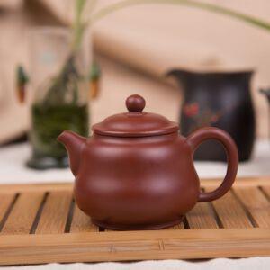 【只有一个】手工茶壶正宗宜兴名家金家棋大红袍紫砂壶