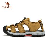 camel骆驼户外沙滩鞋 男款轻便透气舒适包头沙滩凉鞋