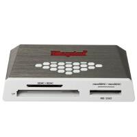 Kingston/金士顿 USB 3.0 High-Speed Media Reader 多功能读卡器FCR-HS4