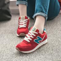 新百伦阿迪 2017春季新款女鞋韩版运动鞋潮流松糕n字鞋女跑步单鞋板鞋