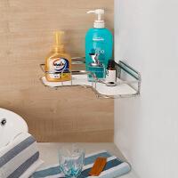 御目 厨卫置物架 304不锈钢浴室置物架卫浴洗手间用品卫生间壁挂厨房收纳转三角架厨卫用品家居装饰品