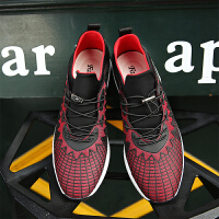 新百伦阿迪 2017春季新款欧洲站潮流透气跑步鞋男士休闲鞋子运动板鞋