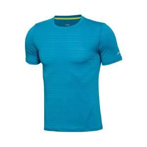 李宁运动短袖新款男跑步健身速干修身型短袖T恤运动上衣ATSL059
