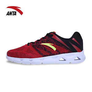 安踏运动鞋男鞋春季耐磨防滑休闲网鞋轻便运动跑步鞋11617701
