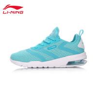 李宁运动鞋女跑步鞋2017新款飞翼透气轻便半掌气垫袜子鞋ARKM012