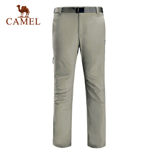 camel骆驼户外速干长裤 春夏男女款快干透气登山徒步长裤