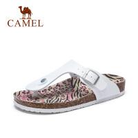 camel骆驼女鞋 2017春夏新款女人字拖凉鞋舒适简约女凉拖