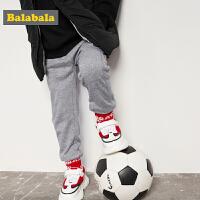 巴拉巴拉童装男童休闲裤小童宝宝裤子2017春装新款纯色幼童长裤男