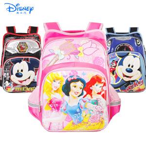 迪士尼公主小学生1-3年级双肩书包女童卡通书包PB8146