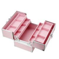 化妆箱 美甲箱 纹绣工具箱 插片灵活分隔跟妆化妆箱