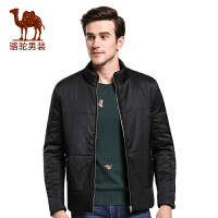 骆驼&熊猫联名系列男装 新款冬装男士立领加厚保暖休闲棉衣男