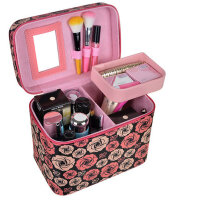 女大号化妆箱 大容量收纳化妆包手提包