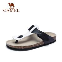 camel骆驼女鞋 2017春季新款 休闲舒适人字拖夹脚凉拖鞋女