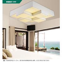 雷士照明 LED吸顶灯客厅格子灯 卧室书房阳台创意灯具