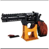 奥斯尼 积木拼插玩具 超级军备系列 手枪 大左轮 300块积木 P2251