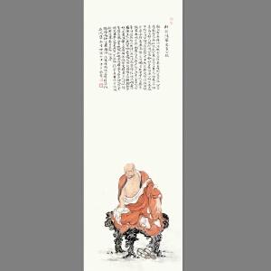 佛教题材《修持》系列之九