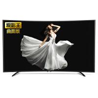 TCL D55A920C 55英寸 曲面观影王 高色域专利画质 智能液晶平板电视 黑色