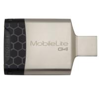 Kingston/金士顿 USB 3.0 MobileLite G4 多功能读卡器FCR-MLG4银色