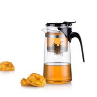 尚明飘逸杯耐热玻璃泡茶壶茶具内胆过滤泡茶杯冲茶器玲珑杯SAG10