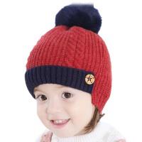 女童帽子秋冬小孩男宝宝帽子2-5岁冬季护耳保暖儿童帽子毛线帽冬