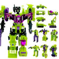 锦江 大力金刚神工程车六合体 变形金刚儿童拼装变形机器人模型男孩玩具 大力金刚8800