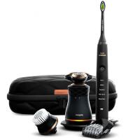 飞利浦电动剃须刀S8880多功能理容剃须刀三刀头刮胡刀全身水洗胡须刀声波电动牙刷