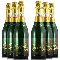 德国原装原瓶进口 汽泡酒 菲梵甜白起泡葡萄酒 750ml*6整箱