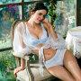 依曼丽夏季套装文胸胸罩可调节肩带 聚拢防滑女士性感内衣DYB7108+DYL7108