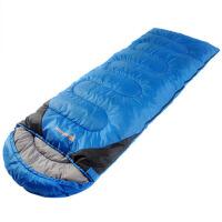 春夏季信封式睡袋户外成人 单人羽绒棉睡袋防水保暖办公室内冬季