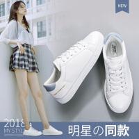 奥古狮登夏季新品小白鞋女低帮鞋子平底单鞋韩版休闲鞋女鞋帆布鞋