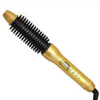 刘海电卷梳圆形卷发棒工具梨花短发内扣卷发器