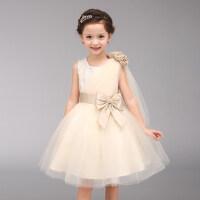 女童连衣裙公主裙儿童礼服钢琴演出表演服花童礼服婚纱裙蓬蓬裙