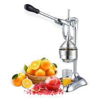 家用手动榨汁机不锈钢压榨挤橙汁器水果压汁机