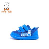 Miffy米菲 童鞋男童运动鞋春秋新款女童宝宝鞋儿童休闲鞋子 AC006