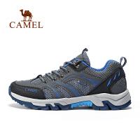camel骆驼户外徒步鞋 男女款缓震防滑透气舒适徒步鞋情侣
